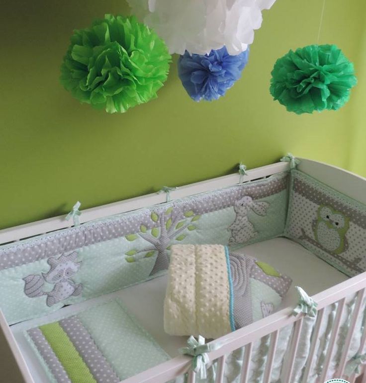 Woodland nursery bedding, Woodland baby bedding, Gray Custom Baby bedding, Owl blanket, Crib Bedding, Baby Shower Gift, Mint, Grey Nursery , Personalized Baby Blanket - Perfect Gift Order here: https://www.etsy.com/listing/482168949/woodland-nursery-bedding-woodland-crib?ref=shop_home_active_40