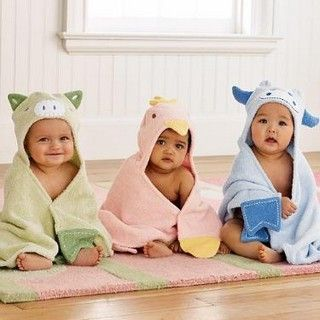 Baby Baby Baby: Babies, Hooded Towels, Baby Baby, Bath Towels, Baby Towels, Animal Towels, Box, Kids, Cute Babies