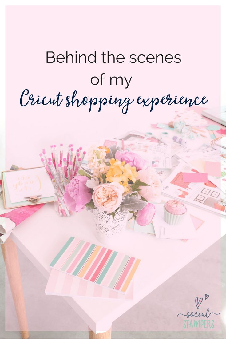 Reviewing the experience shopping with Cricut's online shop. Social Stampers shares their experience of shopping online for craft supplies. Read about it on the blog: www.socialstampers.com/blog