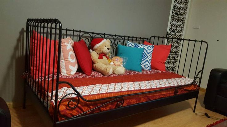 A single cot with mattress is for sale.....pick up from macquarie fields....selling due to new makeover of lounge....in good condition.      n.b. only cot with mattress for sale.....pillows and dolls