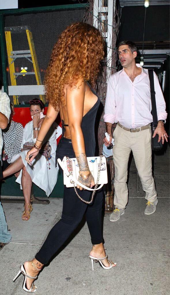 Rihanna curly hair                                                                                                                                                                                 More