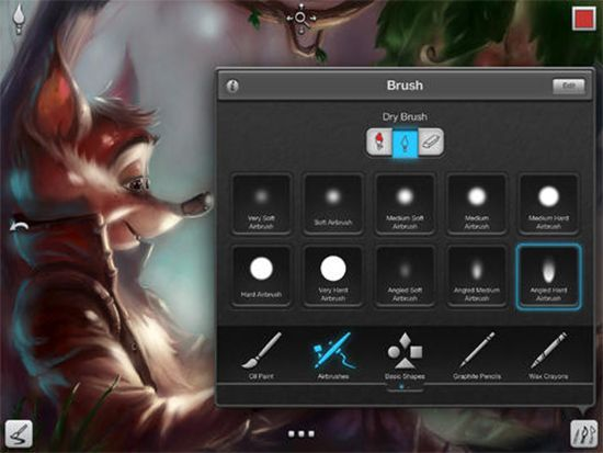 The iDevice has become an incredible tool for all the artists. The iDevice comes with tons of drawing and painting apps that are powerful, appealing and complex.