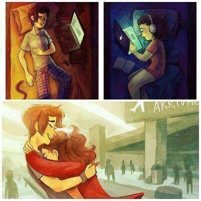 ¿Creen en el amor a distancia?