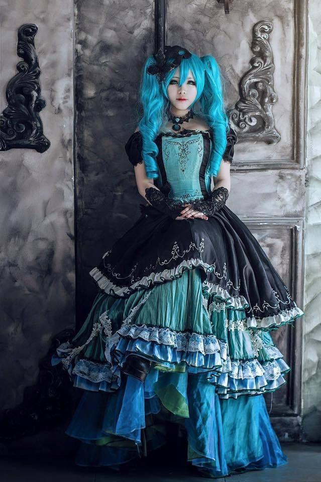 Vocaloid Hatsune Miku- Cosplay