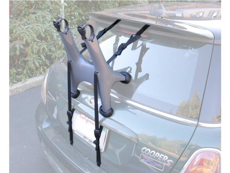 Mini Cooper Single Bike Rack, Rear Mount