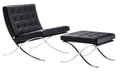Legendary Furniture Design by Mies van der Rohe #mono #interiordesign #interior # design #furniture #home #decor #detail #lifestyle