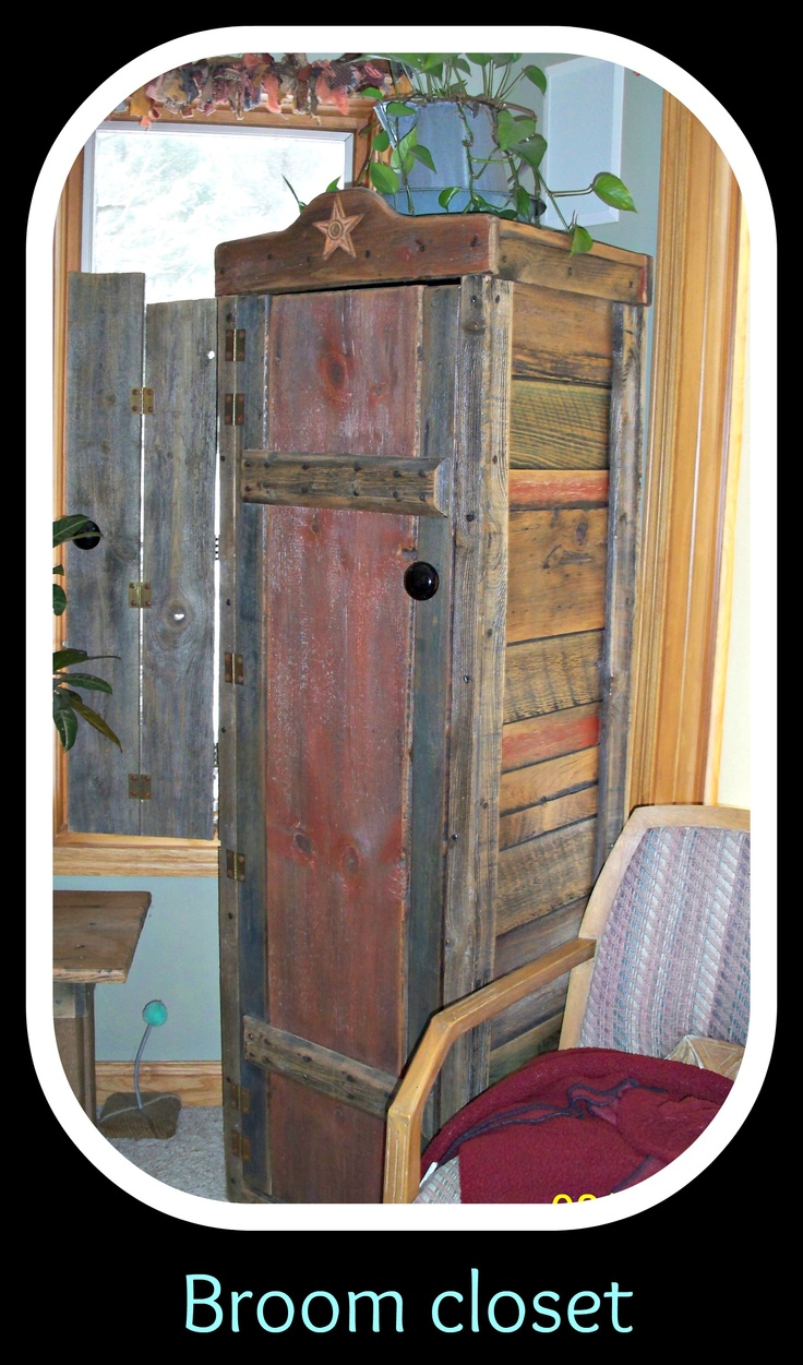 GREAT Inspiration For How To Build My Own Broom Closet.
