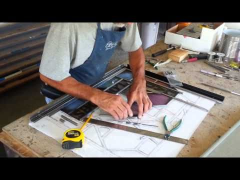 Stained Glass Restoration Releading of damaged vent panels by Hershey's Stained Glass ...