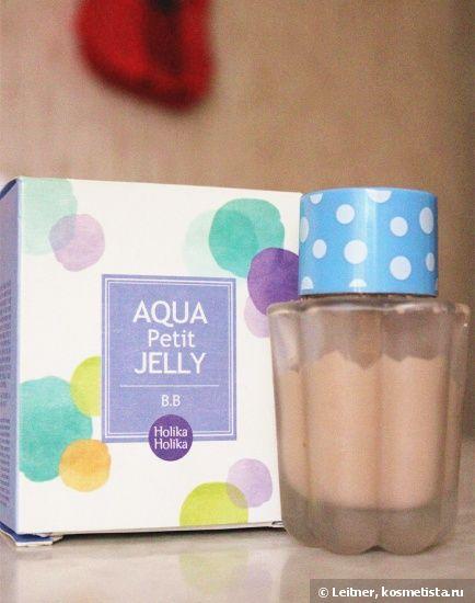 Спасение от жары для жирной и комбинированной кожи. Holika Holika Aqua Petit Jelly BB cream отзывы — Отзывы о косметике — Косметиста