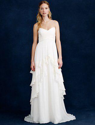 Pin for Later: Les Meilleures Robes de Mariée du Web  J. Crew robe Luella (1,178€)