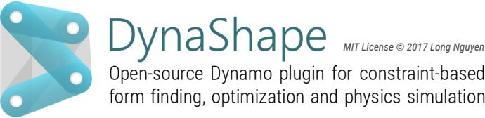 [image]    I am very happy to finally publish and open source DynaShape!    DynaShape is a Dynamo package for constraint-based form finding,optimization and physics simulation.   If you are also from the Grasshopper community and familiar with Daniel Piker's Kangaroo, you will find many similar concepts and usages with DynaShape.   The package is currently under development and hence inevitably contains bugs/glitches. Feedbacks are highly appreciated!   Package Installer  https:&#x...