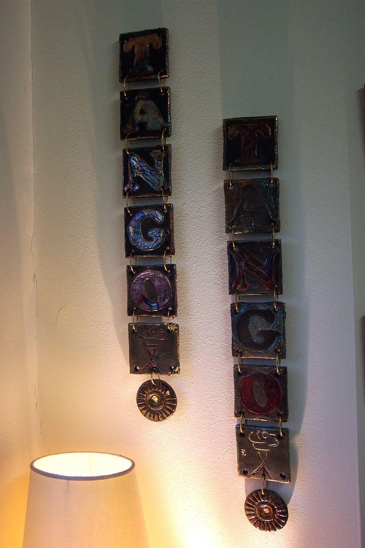 Ceramic raku.Tiles Intriguing and unique artifacts, forged one by one, made in limitless shapes and colours. They may be used to decorate edges, terminals, niches, decors, depending on the client's desire. www.forgiatoredie... ... Mattonelle Incantevoli pezzi unici, forgiati a mano uno ad uno, di misure, colori e forme illimitate, da inserire come bordi, terminali, nicchie, decorazioni, a fantasia del cliente…in ceramica raku