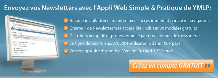 Logiciel d'emailing & marketing par e-mail - YMLP