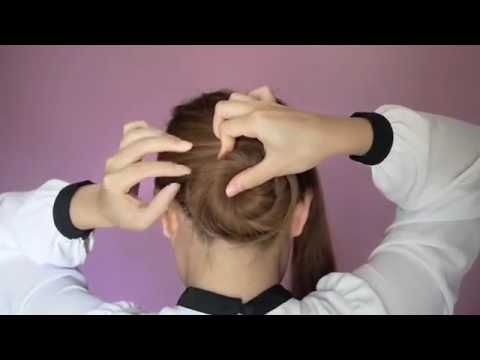 Twisted Bun Hairstyles Video Tutorial