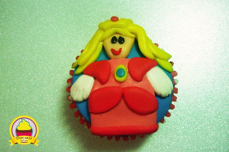 Una gordita hermosa: la Princesa Peach. by cupcakes de la casa
