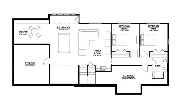 Ranch Style House Plan 3 Beds 2 5 Baths 3588 Sq Ft Plan 928 2 Ranch Style House Plans Floor Plans Ranch Ranch Style Homes