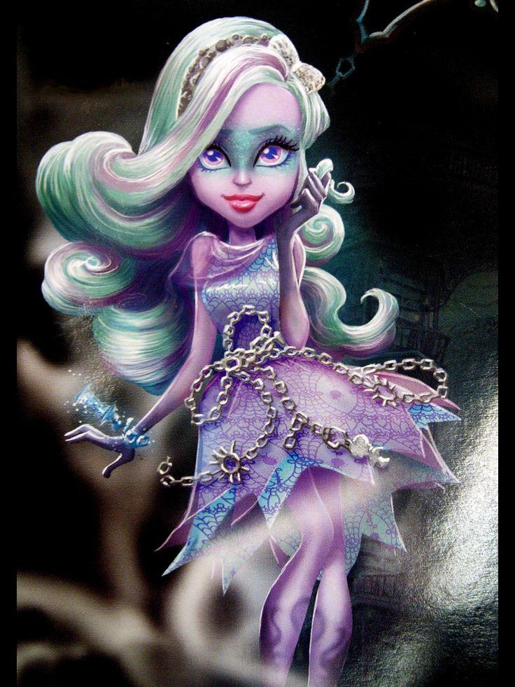 Monster High Haunted Getting Ghostly Twyla Artwork