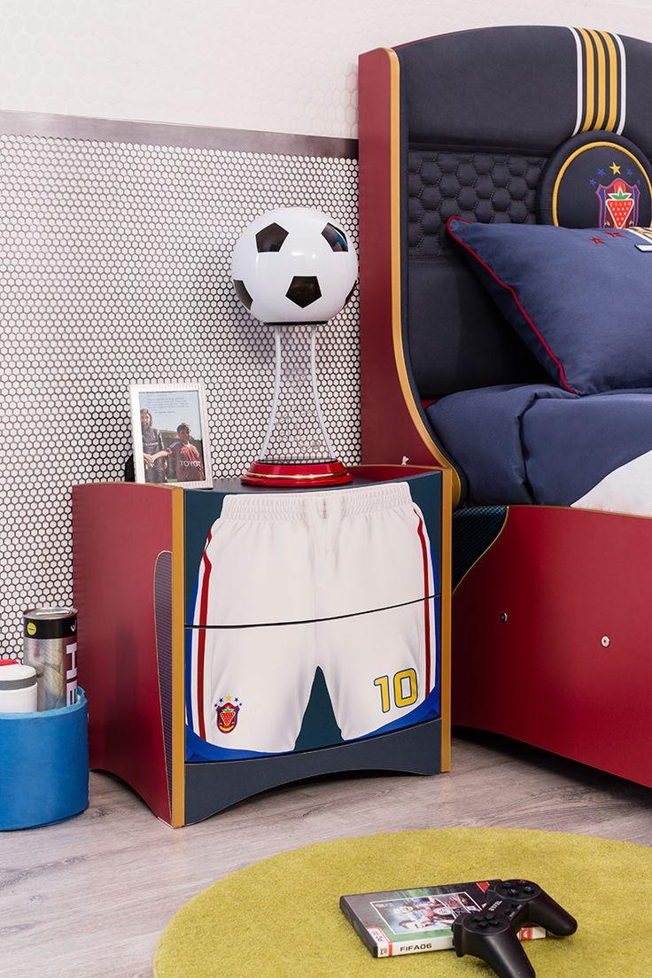 21 besten Soccer Bedroom Bilder auf Pinterest | Möbel kinderzimmer ...