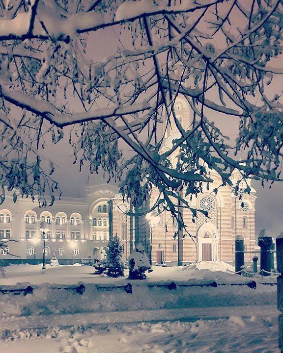 Banja Luka in winter