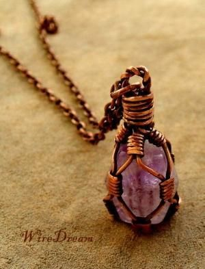 Wire wrapped caged bead tutorial (