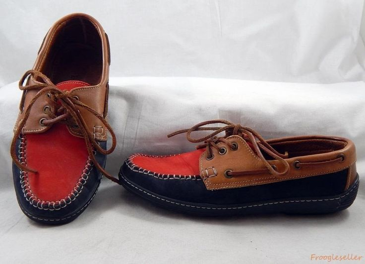Bally womens Tenebrio leather boat shoes US 9 EUR 41 black brown red #Bally #BoatShoes #oxfords #shoes #ebay #womensfashion