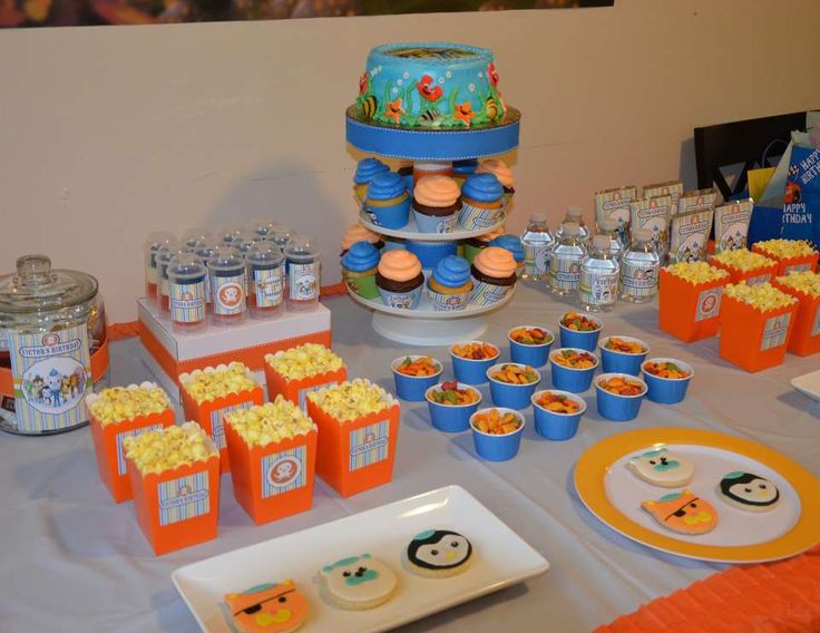 157 best Bubble Guppies Octonauts Birthday Party Ideas images on