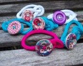 Bracelets coton en tricotin : Bracelet par les-tricots-de-bri