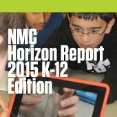NMC Horizon Report > 2015 K-12 Edition Cover photo by Poughkeepsie Day School What is on the five-year horizon for K-12 schools worldwide? Which trends and technologies will drive educational change? What are the challenges that we consider as solvable or difficult to overcome, and how can we strategize effective solutions?