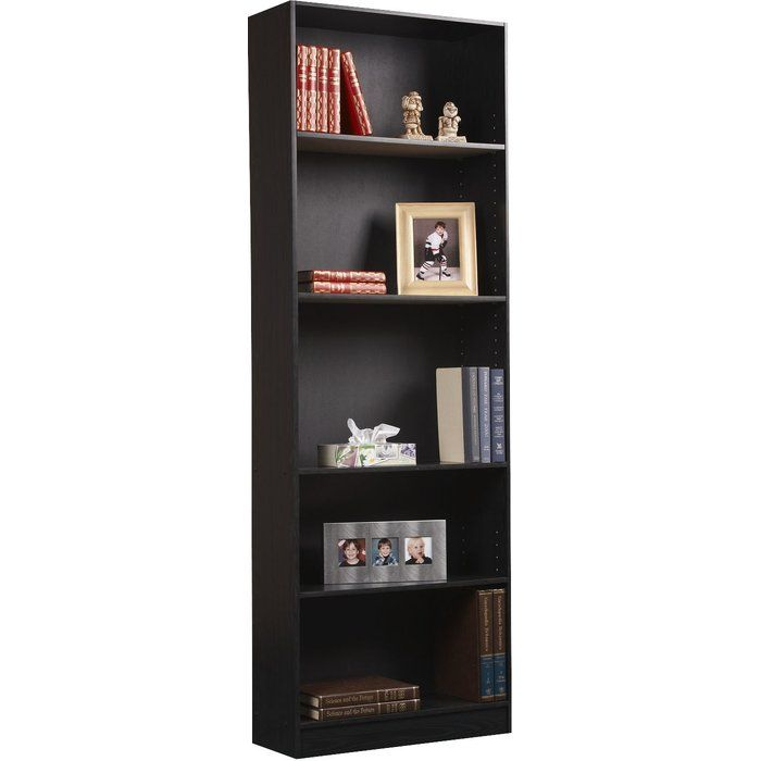 For Sale Modern Industrial Rustic Wood And Metal Shelving Unit With Six Adjustable Wooden Shelves Simp Wood Shelving Units Metal Shelves Metal Shelving Units