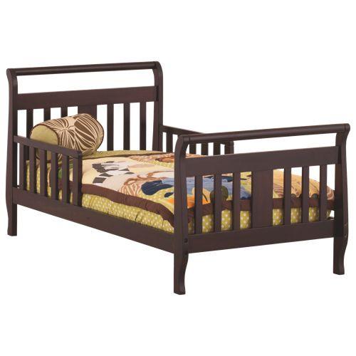 Stork Craft Soom Soom Contemporary Toddler Bed - Espresso                         - Web Only