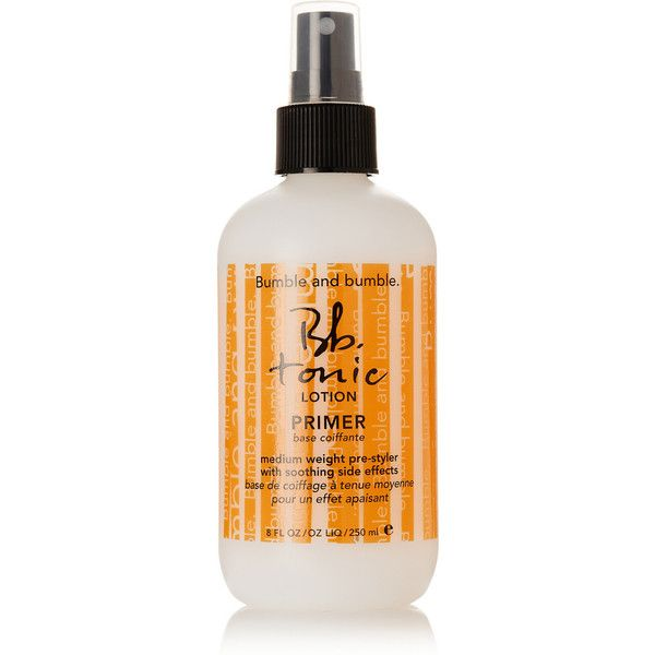 Bumble & Bumble Tonic Lotion Primer, 250ml ($25) ❤ liked on Polyvore featuring beauty products, haircare, styling products, colorless and bumble and bumble