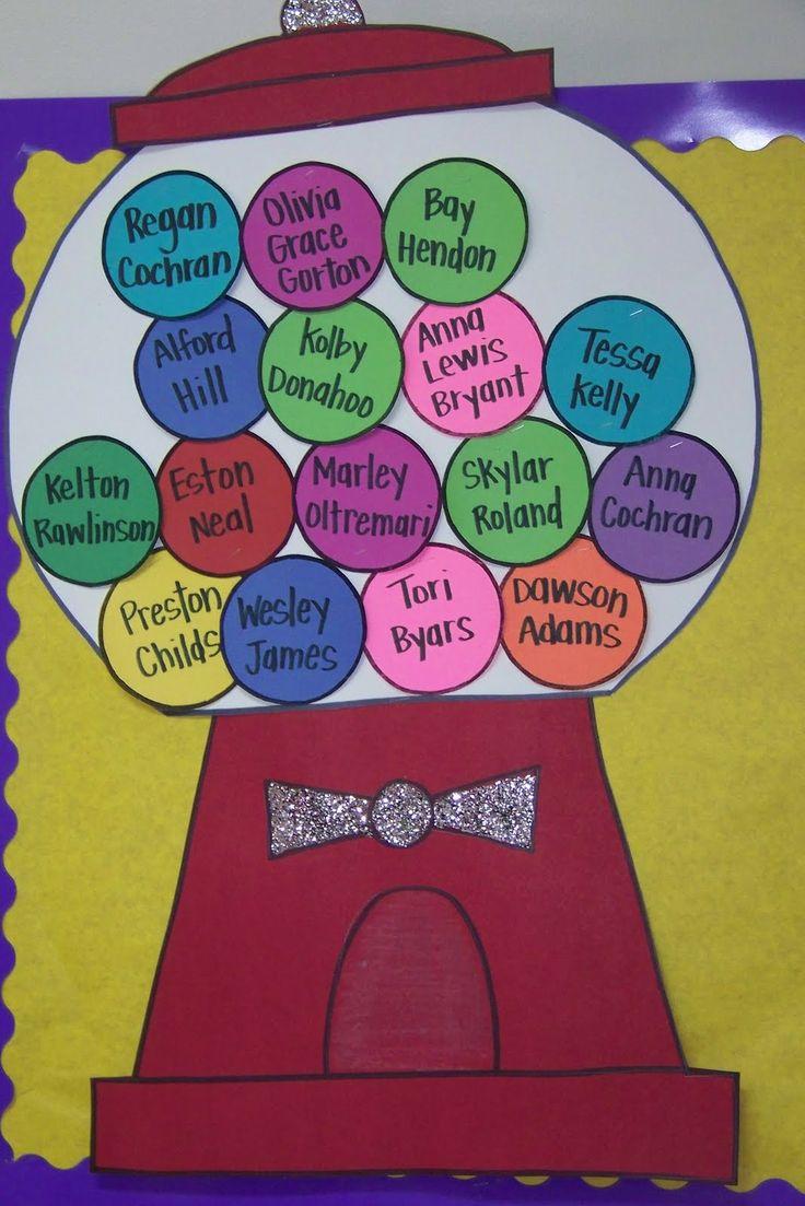 wel gum back | ... Bugs Teaching {first grade rocks!}: Bubble Gum Back to School Theme
