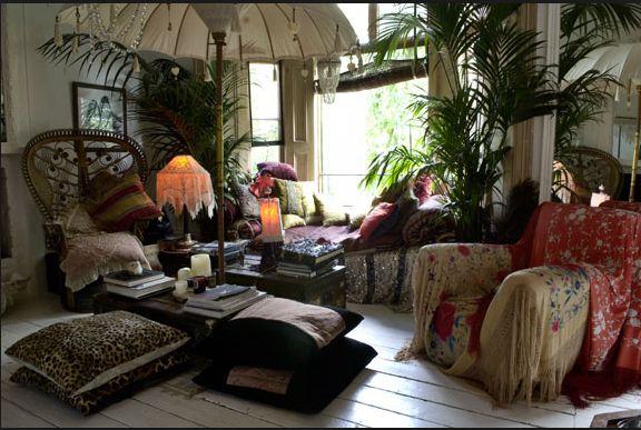 Bohemian Home Decor for Anti Mainstream Interior