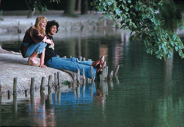 France Gall et Michel Berger - Paris 1971 - Jean-Marie Perier