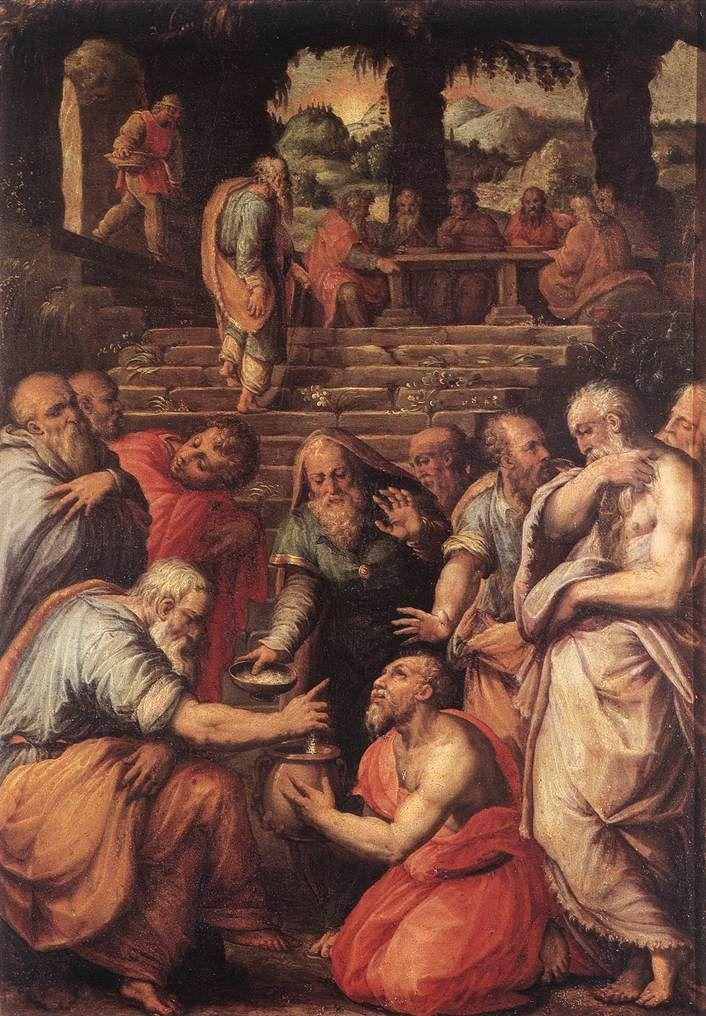 The Prophet Elisha,Giorgio Vasari,Italy, 1566