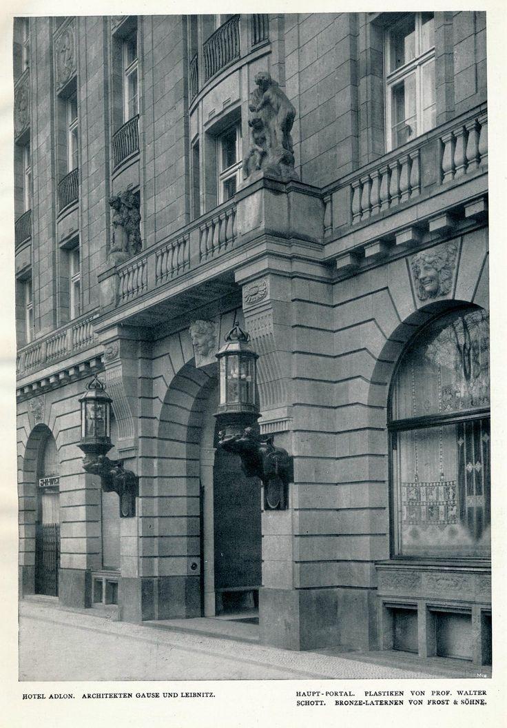 https://flic.kr/p/xXgpJ3 | Innendecoration 1908 Berlin Hotel Adlon  cc | de.wikipedia.org/wiki/Hotel_Adlon