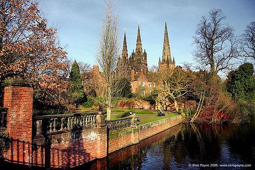 The three spires! | Lichfield Cathedral is the only medieval… | Flickr