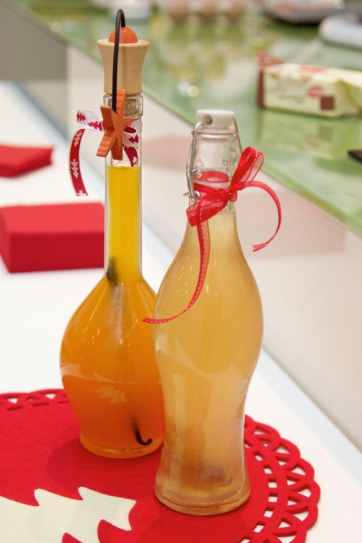 sciroppo agli agrumi e aceto al miele e fichi secchi