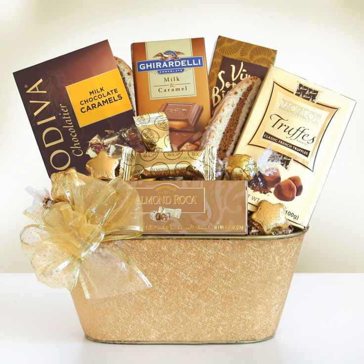 25 unique chocolate gift baskets ideas on pinterest small gifts holiday gold rush chocolate gift basket 7911 negle Images