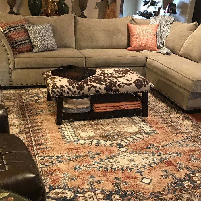 Nathanson Terracotta Area Rug Reviews Joss Main Rugs In