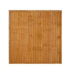 Forest Larchlap Closeboard Fence Panels 1830 x 1830mm Pack of 10 £299