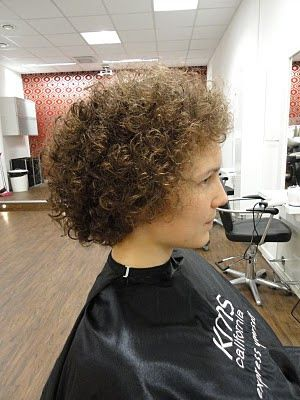 Pin by Jesse Bolton on Perms | Short Curly Hair, Curly ...