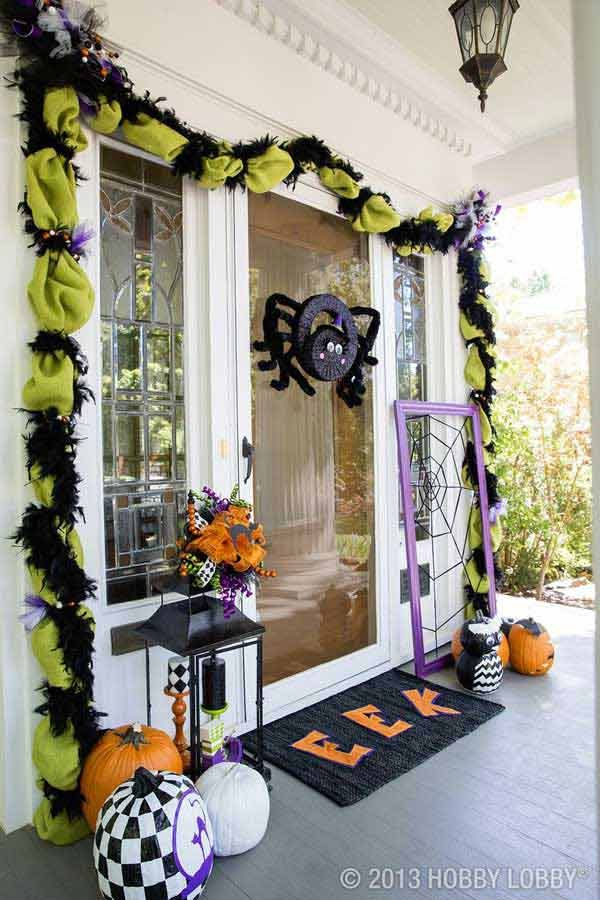 Les 25 meilleures id es de la cat gorie halloween doorway for Decoration porte d entree halloween