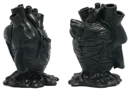 Black Anatomical Heart Pencil Holder - $19.95»  Every office needs an anatomical heart pencil holder, right? Right.