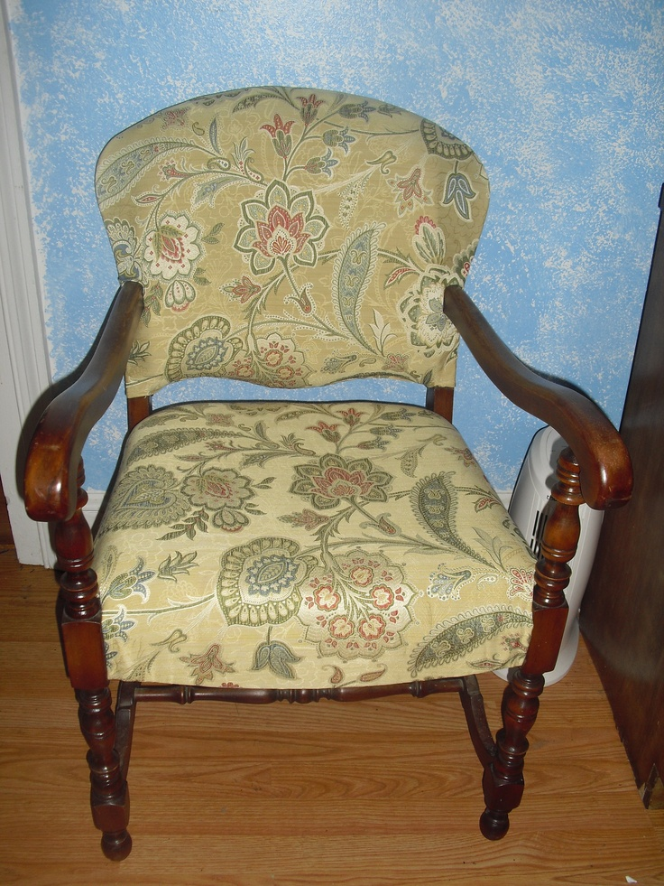 how to reupholster a dining chair new foam