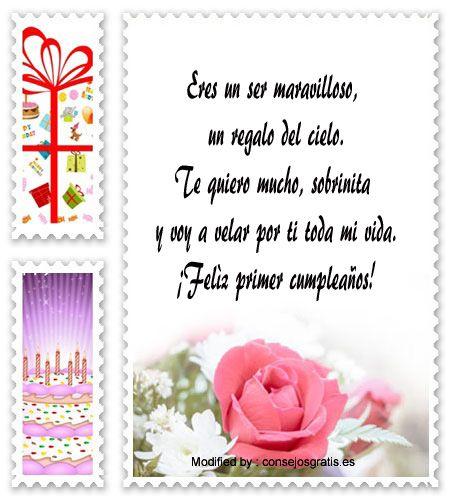 textos de feliz cumpleaños para enviar,textos de cumpleaños para enviar por Whatsapp: http://www.consejosgratis.es/cartas-para-mi-sobrina-en-su-cumpleanos/