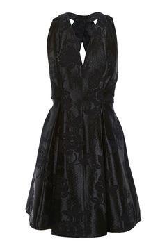 Twist Jacquard Prom Dress - TopShop