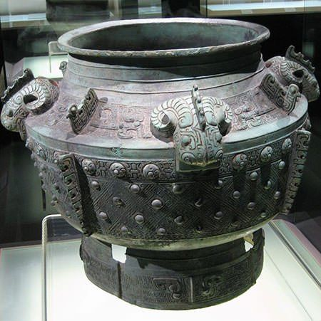Shang Dynasty Bronze Vessel - The artistry and workmanship ...