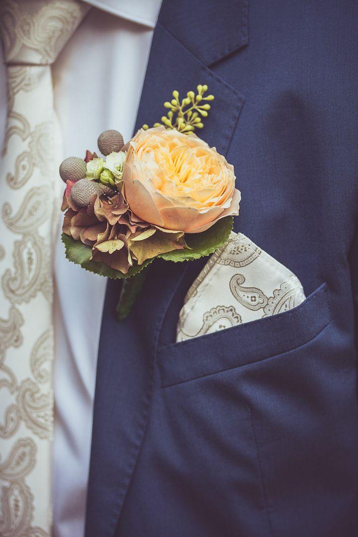 A groom's corsage with orange peony / Corsage van de bruidegom met oranje pioenroos. Made by me / Gemaakt door mij: www.fotozee.nl Ik ben graag jullie trouwfotograaf! photography trouwfoto's trouwfotografie bruidsfotografie