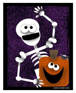 """Trick or Treat card game to download. """"Prepared NOT Scared!: Another Halloween Game . . . Just for YOU!"""""""